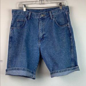 Vintage Wrangler 100% sturdy cotton jean shorts 32